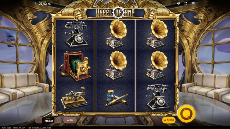 Wheel of Amp :: Main Game Board