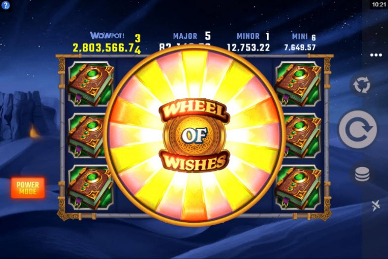 Play slots at All Irish: All Irish featuring the Video Slots Wheel of Wishes with a maximum payout of $2,000,000