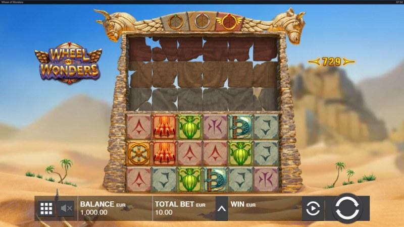 Wheel of Wonders :: Base Game Screen