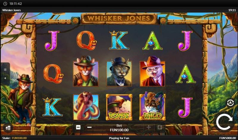 Whisker Jones :: Main Game Board