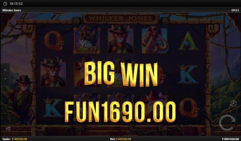 Whisker Jones :: Big Win