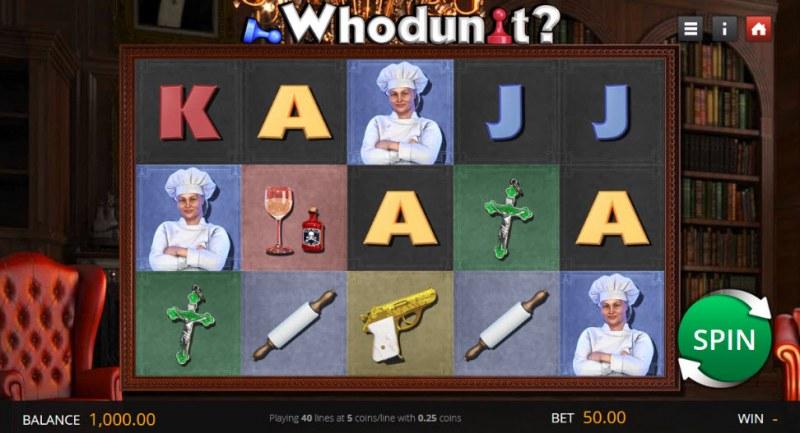 Who Dun It :: Main Game Board