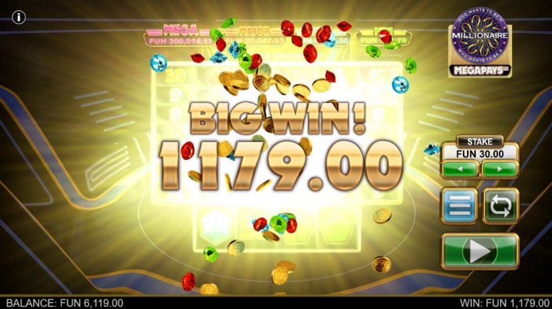Who Wants to be A Millionaire Megapays :: Big Win