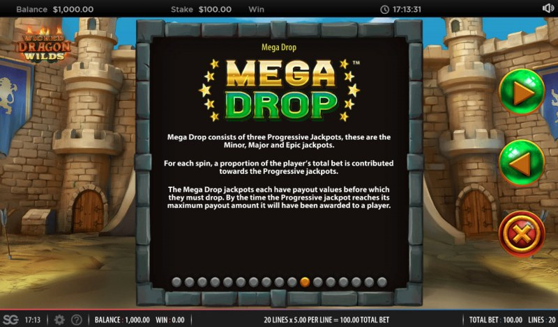 Wicked Dragon Wilds Mega Drop :: Mega Drop Rules