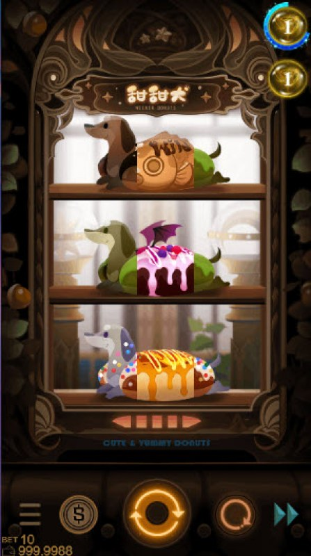 Wiener Donuts :: Main Game Board