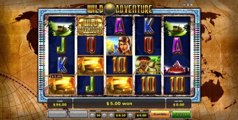 Wild Adventure :: Three of a kind