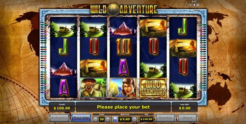 Wild Adventure :: Main Game Board