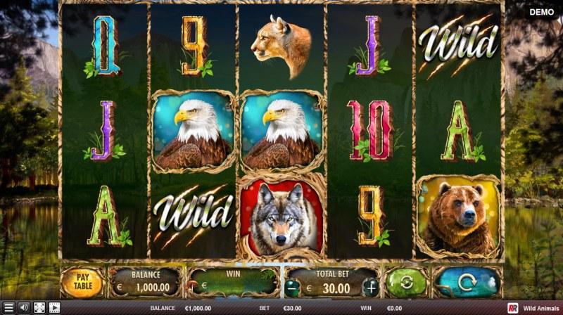 Wild Animals :: Main Game Board