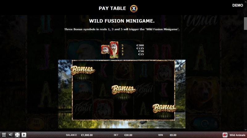 Wild Animals :: Bonus Feature