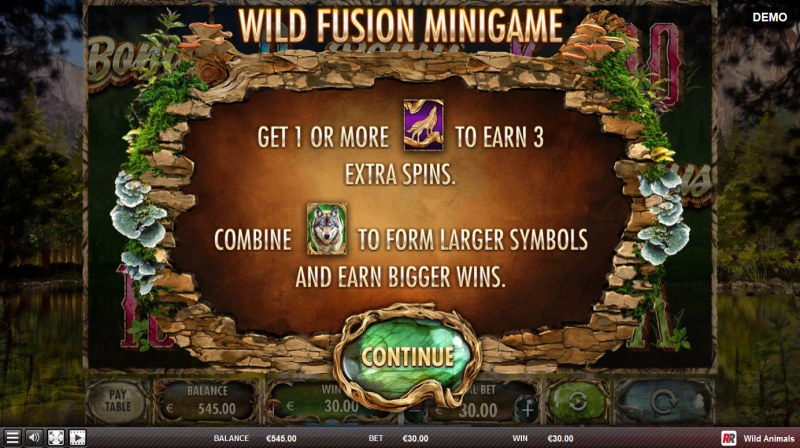 Wild Animals :: Wild Fusion Minigame