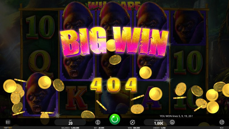 Wild Ape :: Big Win