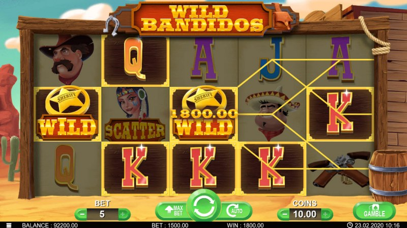 Wild Bandidos :: Five of a kind