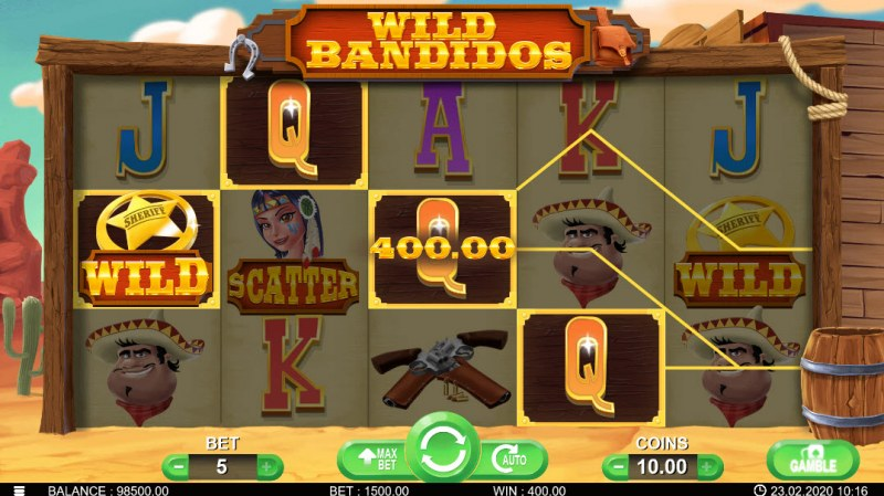 Wild Bandidos :: Four of a kind