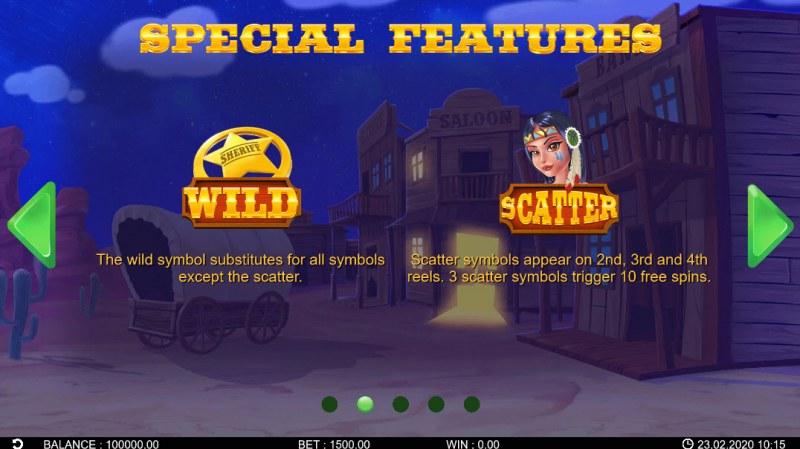Wild Bandidos :: Wild Symbols Rules