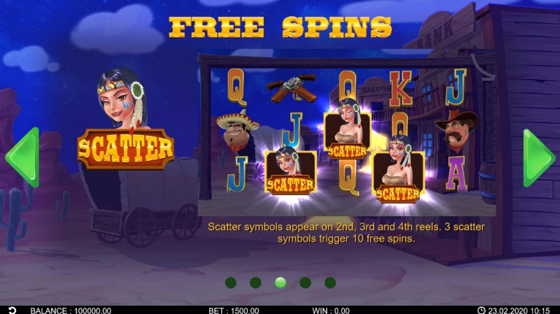 Wild Bandidos :: Free Spins Rules