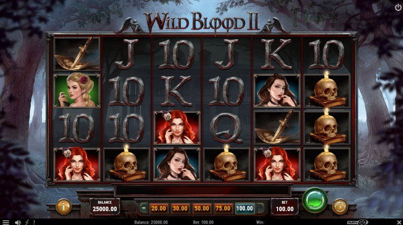Wild Blood II :: Main Game Board