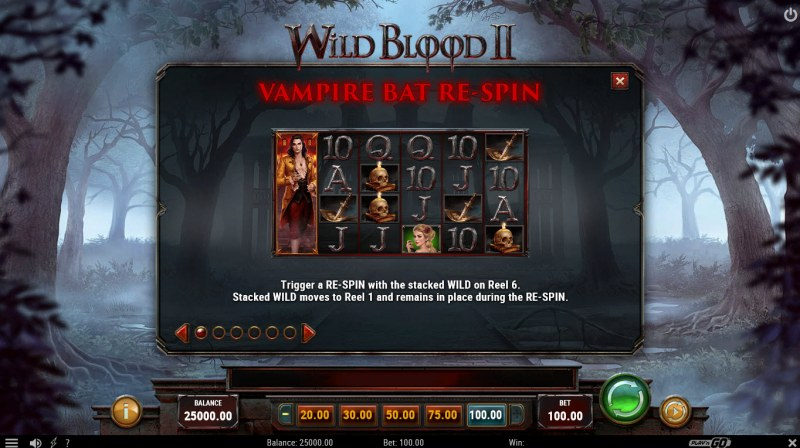 Wild Blood II :: Feature Rules