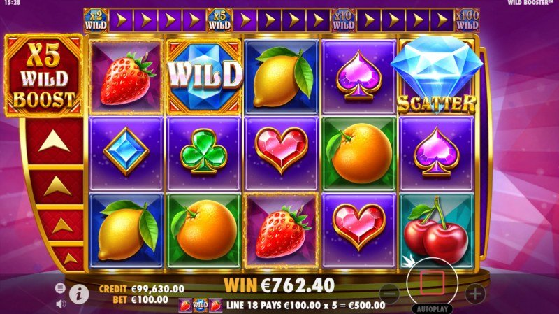 Wild Booster :: X5 Win Multiplier