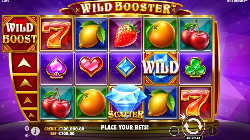 Wild Booster :: Main Game Board