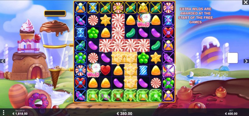Wild Candy :: Multiple winning combinations