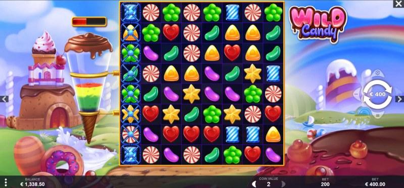 Wild Candy :: Main Game Board