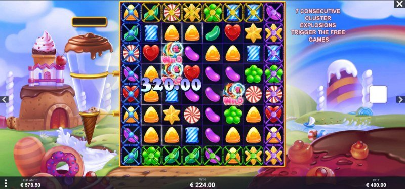 Wild Candy :: Multiple winning clusters