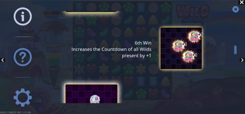 Wild Candy :: 6th win increases the wild countdown