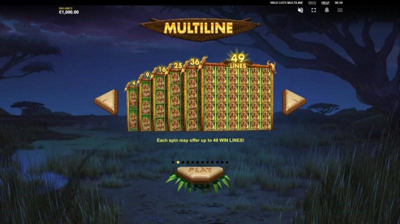 Wild Cats Multiline :: Multiline