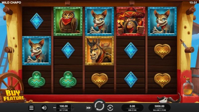 Wild Chapo :: Main Game Board