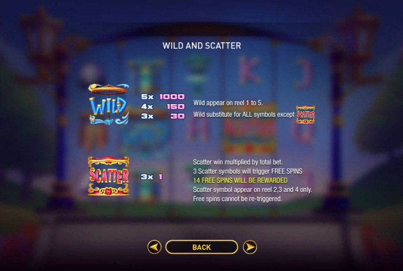 Wild Chimes :: Wild and Scatter Rules
