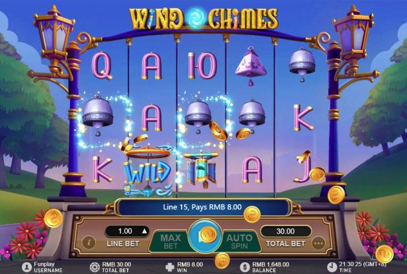 Wild Chimes :: Three of a kind