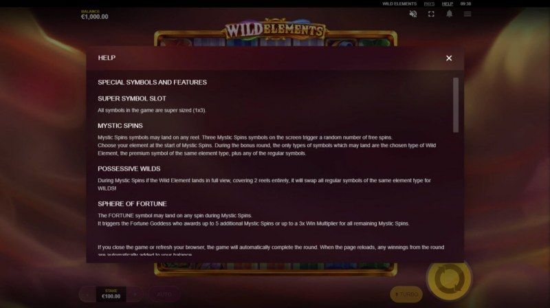 Wild Elements :: General Game Rules