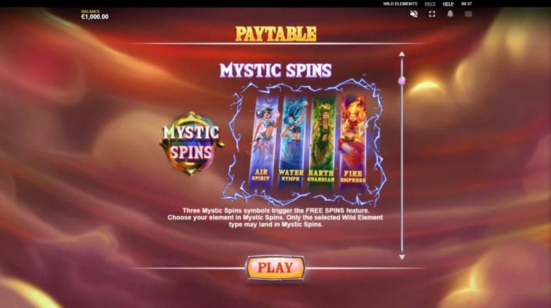 Wild Elements :: Mystic Spins