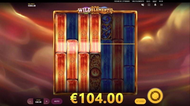 Wild Elements :: Multiple winning paylines