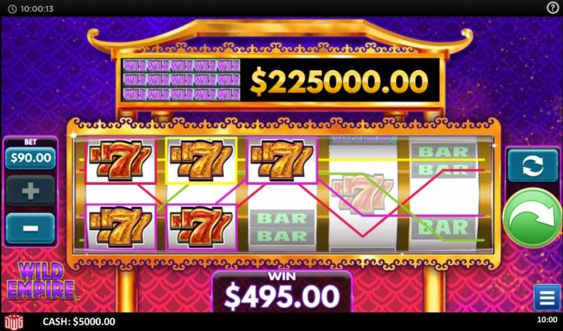 Wild Empire :: Multiple winning paylines