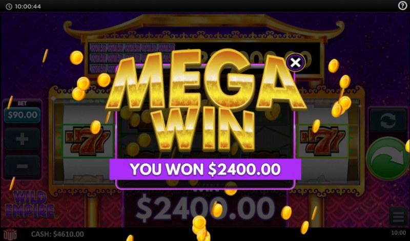 Wild Empire :: Mega Win