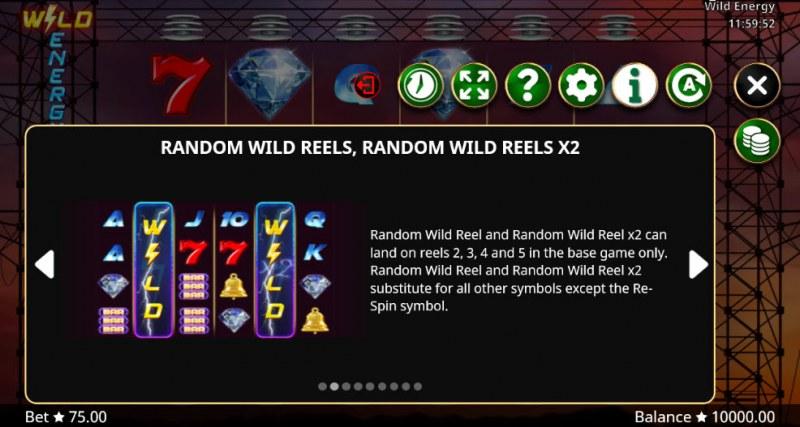 Wild Energy :: Random Wild Reels