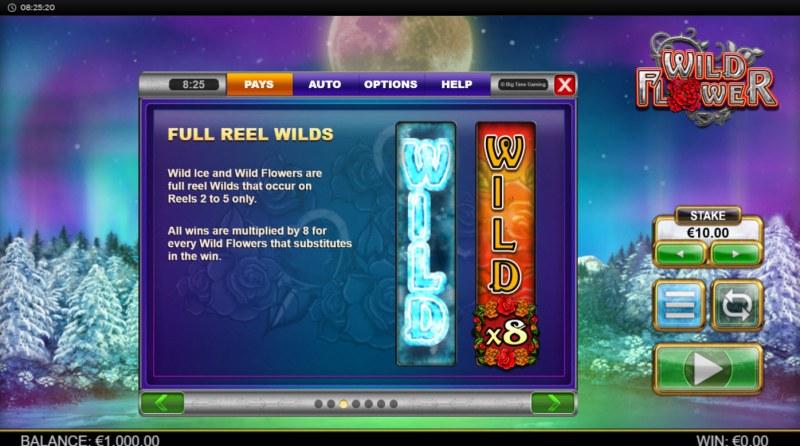 Wild Flower :: Wild Symbol Rules