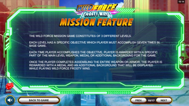 Wild Force Frosty Wins :: Mission Feature