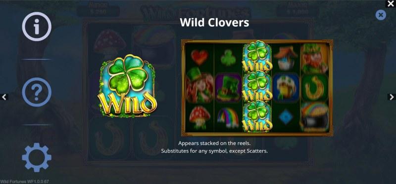 Wild Fortunes :: Wild Symbol Rules