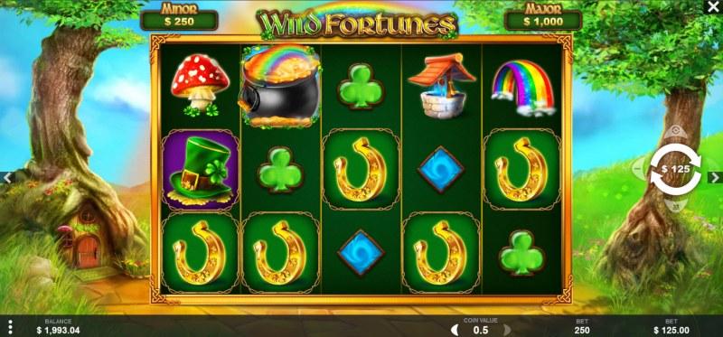Wild Fortunes :: Main Game Board