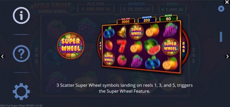 Wild Fruit Super Wheel :: Scatter Symbol Rules