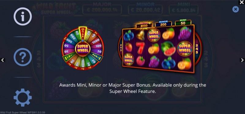 Wild Fruit Super Wheel :: Jackpot Rules