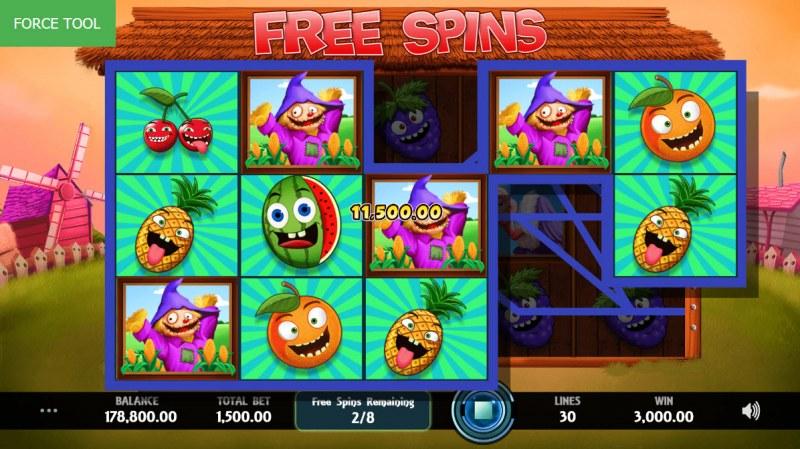 Wild Fruit :: Multiple winning paylines