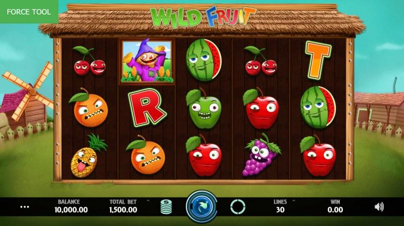 Wild Fruit :: Main Game Board