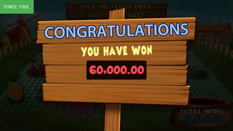 Wild Fruit :: Total bonus payout