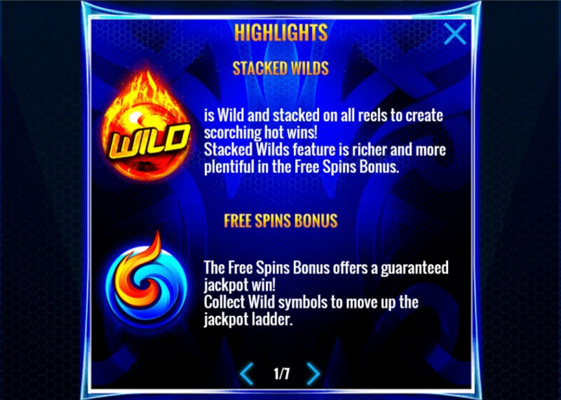Wild Fury Jackpots :: Wild and Scatter Rules