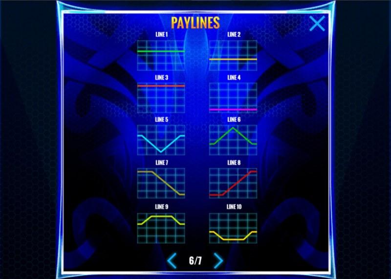 Wild Fury Jackpots :: Paylines 1-10