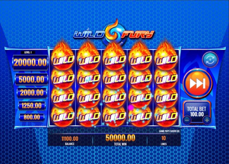 Wild Fury Jackpots :: Mega Win