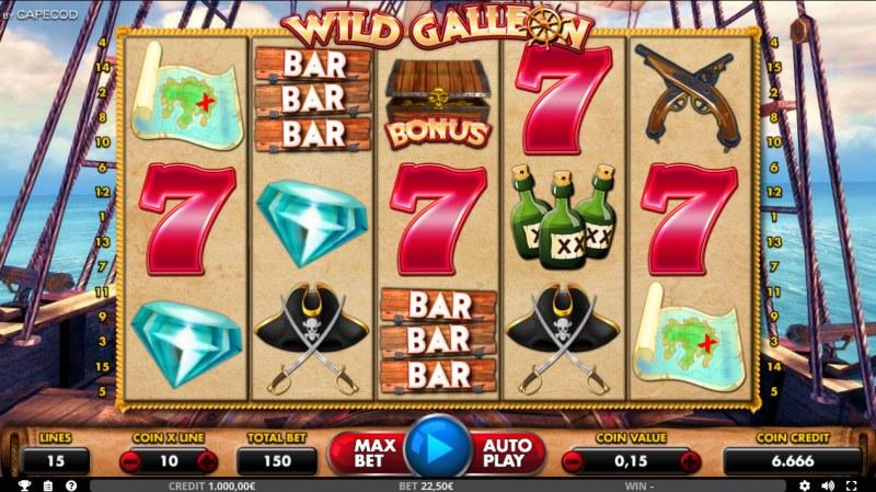 Wild Galleon :: Main Game Board